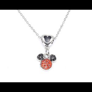 Jewelry - Mickey Mouse Pendant Necklace silver chain